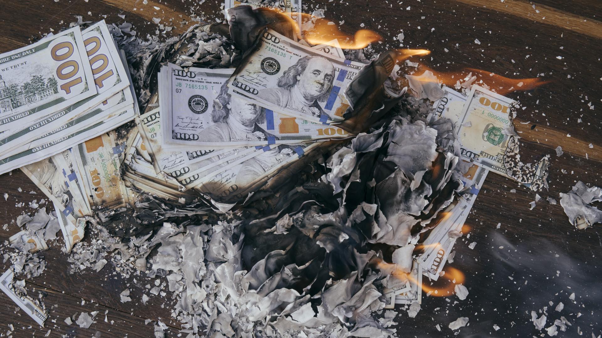 pénzt veszteség