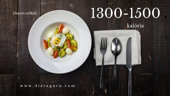 1500 kalória)