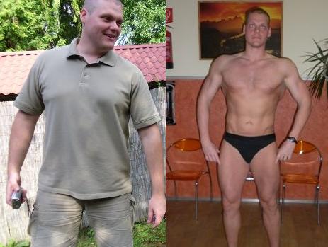 fogyás férfi modell)