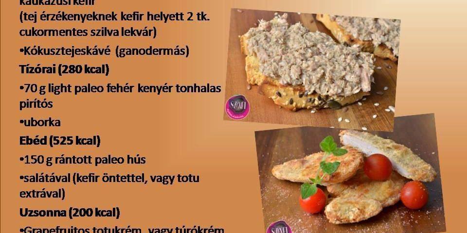 1700 kalóriás étrend)