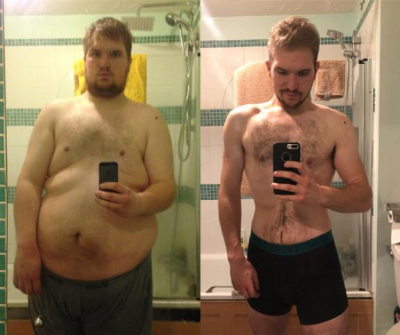 fogyás túlsúlyos férfiak esetén