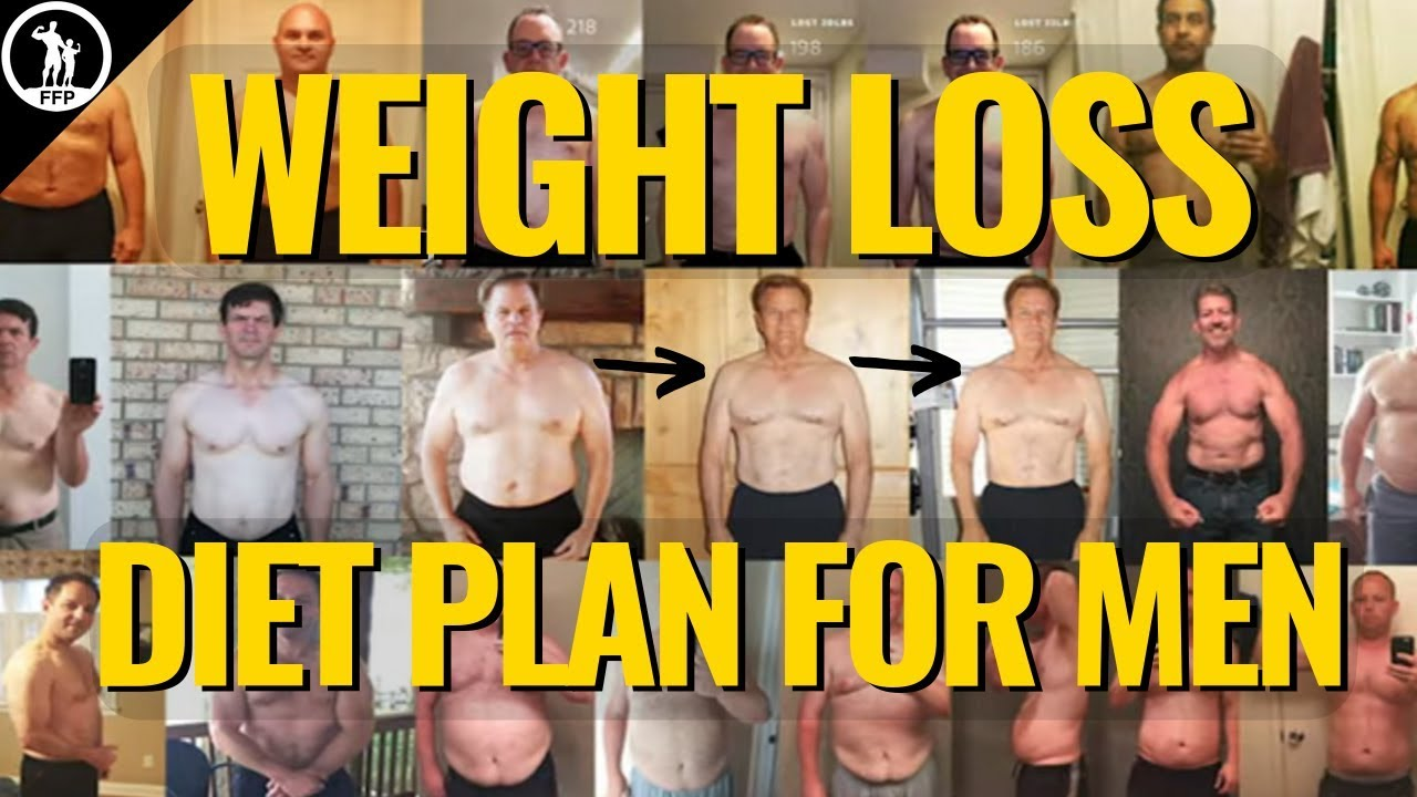 male fat loss diet plan