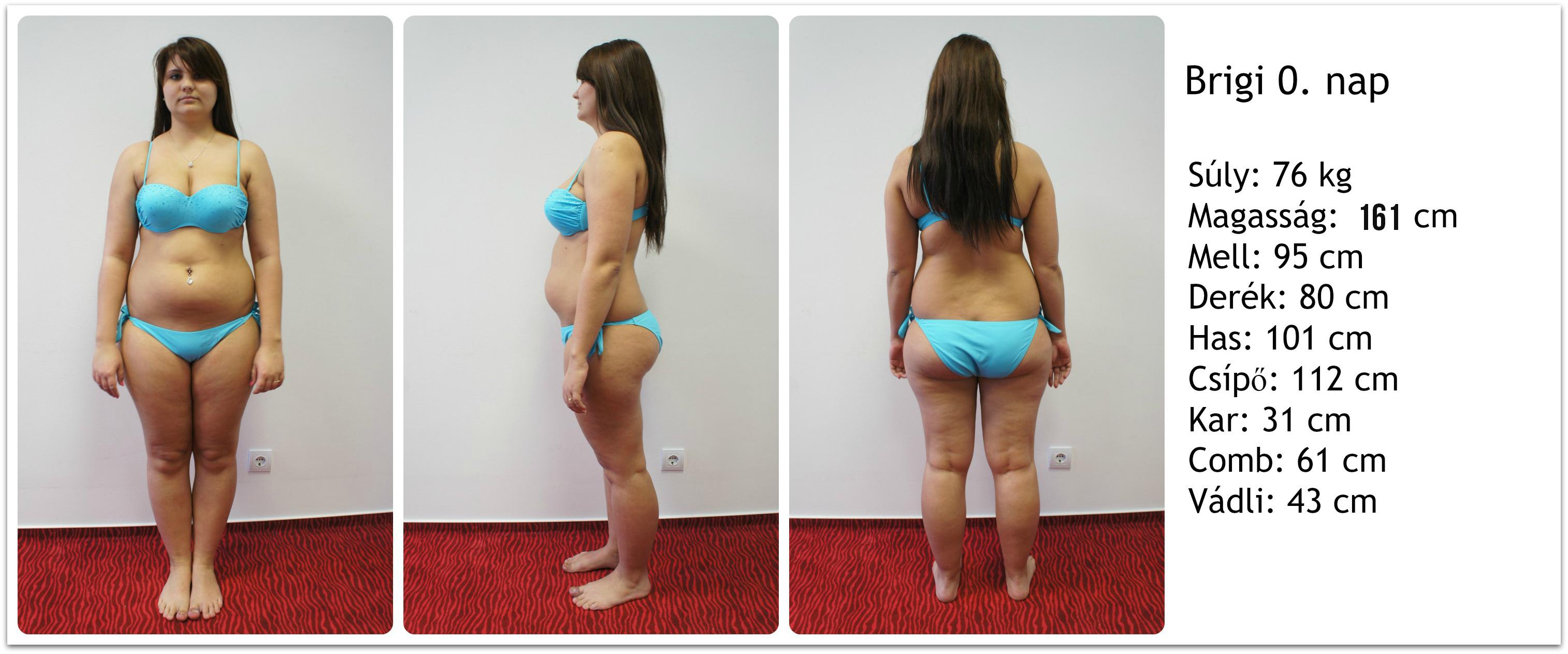 női fogyókúra súlycsökkenés alakult ki
